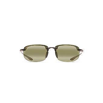 Maui Jim Ho-okipa Reader Rectangular Reading Sunglasses - Trans Smoke Grey/Maui HT Polarized - Medium