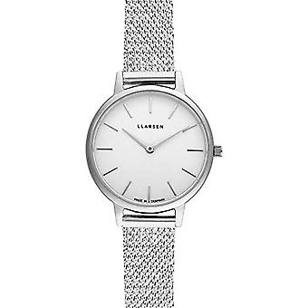 LLARSEN Analogueic Watch Quartz Woman with Stainless Steel Strap 146SWS3-MS12