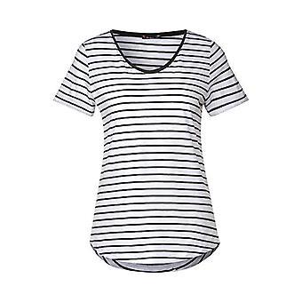 Street One 314888 Gerda T-Shirt, Green Comfort, 40 Woman