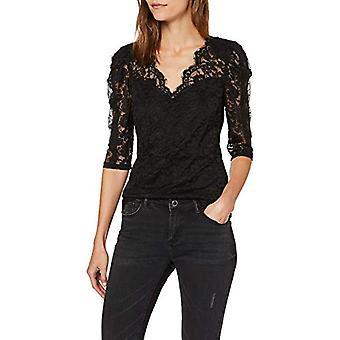 Morgan Tshirt empi cement Dentelle Tena T-Shirt, Black (Noir Noir), X-Small (Size Manufacturer: TXS) Women's