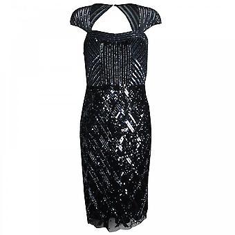 Frank Lyman Open retour entier Sequin robe de Cocktail