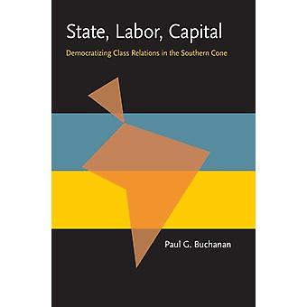 State Labor Capital door Paul Buchanan