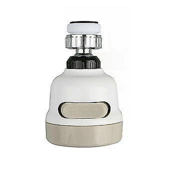 2Pcs 360 degree rotatable spray head tap durable faucet filter nozzle 3 modes az9273