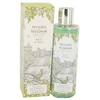 Lily Of The Valley (woods Of Windsor) by Woods Of Windsor Shower Gel 8.4 Oz (dames)