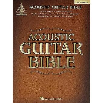 Acoustic Guitar Bible by Hal Leonard Publishing Corporation