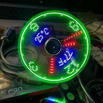 جديد مصغرة usb المراوح الوقت ودرجة الحرارة عرض الأدوات بارد جديد sm47008