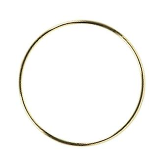Gold Color Metal Catcher Round Hoop Ring Diy Wreath Crafts