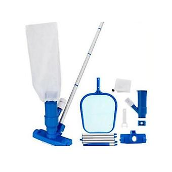 Pool Skimmer Cleaning Kit With Telescopic Rod, Pool Maintenance Cleaner With Net
