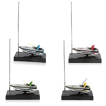 Kannettava Micro Radio Rc -ohjaus Erittäin nopeat sähkökäyttöinen kilpavenelelut