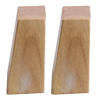 木製家具キャビネット脚直角台形足の交換