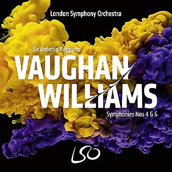 Vaughan Williams: Syms Nos. 4 & 6 [SACD] USA import