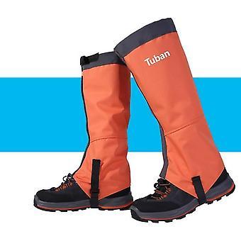 Unisex picior impermeabil acoperă jamgging gaiter alpinism camping drumeții cizme de călătorie pantof zăpadă mers picioare de protecție