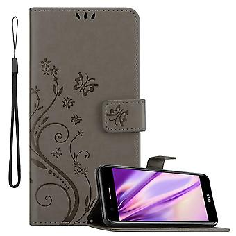 Case for LG K10 2018 Foldable Phone Case - Cover - with Stand Function and Card Tray