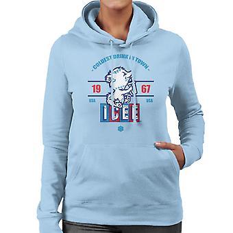 ICEE Coldest Drink In Town Since 1967 Women's Hooded Sweatshirt