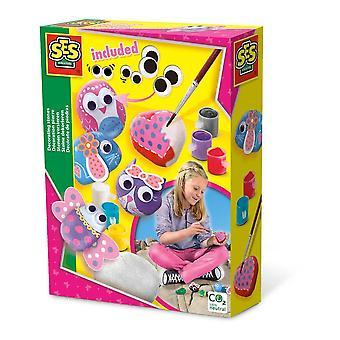 Kit de pierres de décoration pour enfants