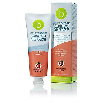 Whitening toothpaste Multifunctional Strawberry Mint Beconfident (75 ml)