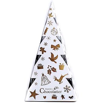 Martin's Chocolatier Christmas Chocolate Gift Set   Chocolate Christmas Tree   Chocolate Truffles   Secret Santa Gift