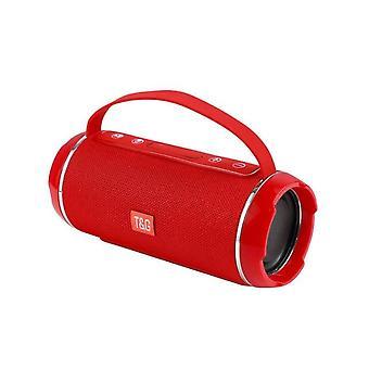 waterproof portable wireless bluetooth speaker(Red)