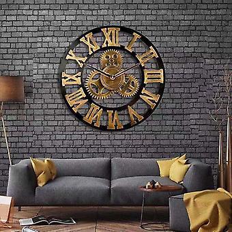 teampunk stil industriell utstyr veggklokke dekorative retro mdl veggklokke industriell alder stil rom dekorasjon veggkunst dekor