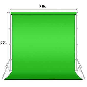 2 X 3m Photography Studio Non-woven Green Backdrop Screen Photography Background