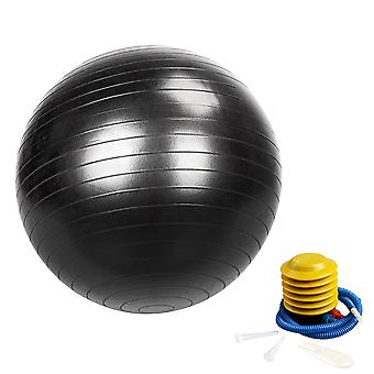 Exercise Ball, Yoga Ball Chair With Quick Pump, Stability Fitness Ball
