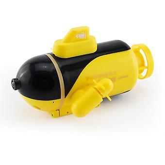 Mini Radio Submarine Remote Control Ship Toy Light Child Christmas Gift Remote Control Toy