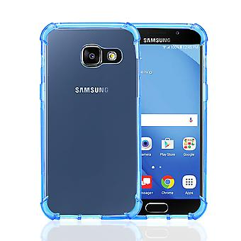 32nd kova geeli kotelo Samsung Galaxy A5 (2017) - Deep Blue