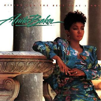 Anita Baker - geben Sie das beste, was ich Got [CD] USA importieren