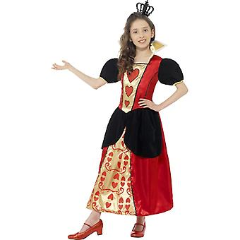 Miss hearts child costume, Queen hearts