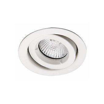 Ansell ICage Mini Adjustable Downlight 50W GU10 White