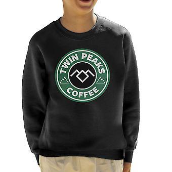 Twin Peaks kávé Dale Cooper Starbucks kölyök ' s pulóver
