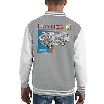 Varsity Jacket de Haynes propriétaires atelier manuel 0637 VW LT Van Kid
