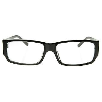 Moderne schone & fundamentele rechthoekige RX-staat duidelijk Lens Eyewear leesbril