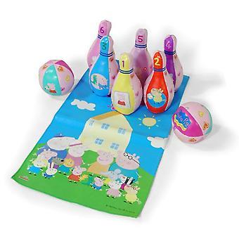 Peppa Pig bowlingspel instellen
