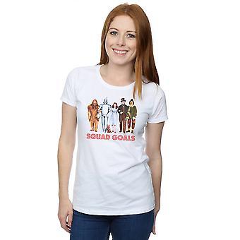 Trollkarlen från Oz Damernas trupp mål T-Shirt