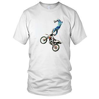 Offroad Stunt Rider Superman Mens T-Shirt
