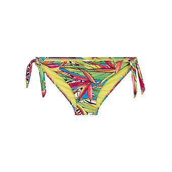 LingaDore 2916BS-154 kvinnors Carnaval flerfärgad motiv badkläder Badkläder Bikini botten