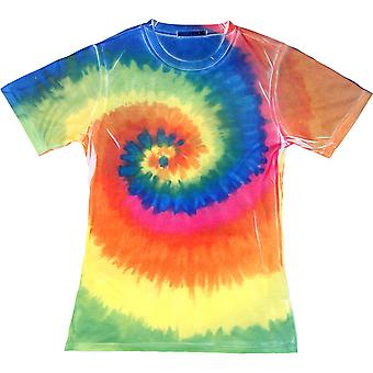 Colortone Ladies Sublimated Rainbow Pattern T Shirt