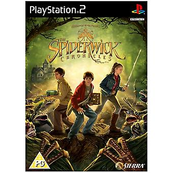 The Spiderwick Chronicles (PS2) - New Factory Sealed