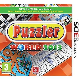 Puzzler World 2013 (Nintendo 3DS) - New