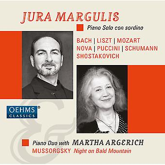 Bach, J.S. / Margulis / Argerich - Jura Margulis & Martha Argerich - Piano Con Sordin [CD] USA import