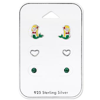 Sirenă-925 Sterling argint seturi-W33242X