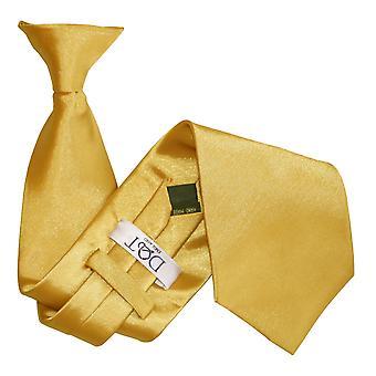 Goud platte satijnen Clip op gelijkspel