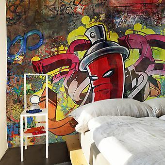 Fototapete - Graffiti monster