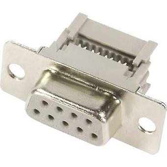 HARTING 09 66 218 7500-SUB-Buchsen 180 ° Anzahl der Pins: 15 Cut & Clip 1 PC