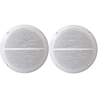 Kenford Flush mount speaker 50 W 8 Ω White 1 Pair