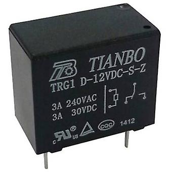 Tianbo Electronics TRG1 D-12VDC-S-Z PCB relay 12 V DC 5 A 1 change-over 1 pc(s)