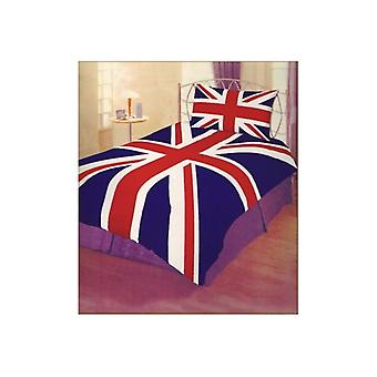 Union Jack käyttää Union Jack yhden untuvapeite asetettu