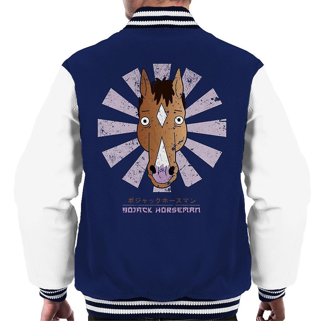Jinete de BoJack Retro japonesas Varsity chaqueta de