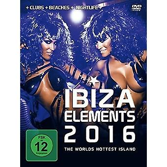 Various Artist - Ibiza Elements 2016 [DVD] USA import